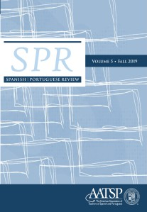 SPR Vol. 5 2019 Cover